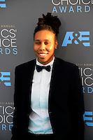 LOS ANGELES - JAN 17:  Lena Waithe at the 21st Annual Critics Choice Awards at the Barker Hanger on January 17, 2016 in Santa Monica, CA
