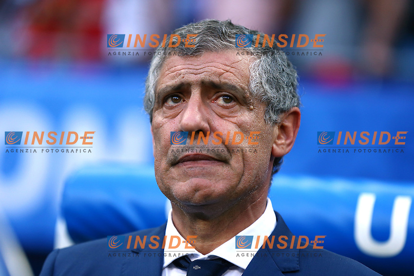 Fernando Santos (Portugal)<br /> Lyon 06-07-2016 Stade de Lyon Football Euro2016 Portugal - Wales / Portogallo - Galles Semi-finals / Semifinali <br /> Foto Matteo Ciambelli / Insidefoto