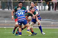 LEVIN, NEW ZEALAND - OCTOBER 28: Ryan Knell of Wairarapa in action  during the Lochore Cup Final match between Horowhenua Kapiti and Wairarapa Bush at Levin Domain on October 28, 2018 in Levin, New Zealand. <br /> Photo by Masanori Udagawa. <br /> www.photowellington.photoshelter.com