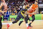 Jordan CRAWFORD (#1 MHP Riesen Ludwigsburg) \ beim Spiel in der Basketball Bundesliga, MHP Riesen Ludwigsburg - Mitteldeutscher BC.<br /> <br /> Foto &copy; PIX-Sportfotos *** Foto ist honorarpflichtig! *** Auf Anfrage in hoeherer Qualitaet/Aufloesung. Belegexemplar erbeten. Veroeffentlichung ausschliesslich fuer journalistisch-publizistische Zwecke. For editorial use only.