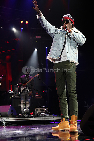 NEWARK, NJ - DECEMBER 3: Young Thug at the 2016 Hot 97 Hot 4 The Holidays Concert at the Prudential Center in Newark, New Jersey on December 3, 2016. Credit: Walik Goshorn/MediaPunch
