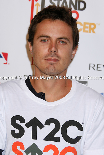 HOLLYWOOD, CA. - September 05: Actor Casey Affleck arrives at Stand Up For Cancer at The Kodak Theatre on September 5, 2008 in Hollywood, California.