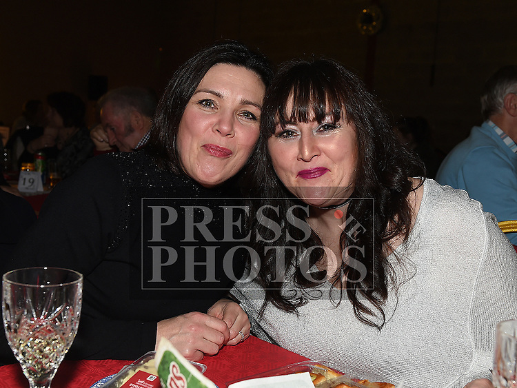 Bernie Havern and Joan Barrett at the Trio Royale show in St. Kevins GAA club Philipstown. Photo:Colin Bell/pressphotos.ie
