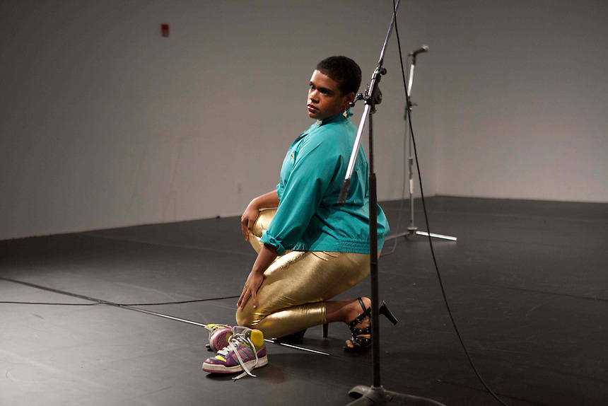 Niv Acosta with Larissa Velez-Jackson | The Center For Performance Research | Brooklyn, NY | 2011