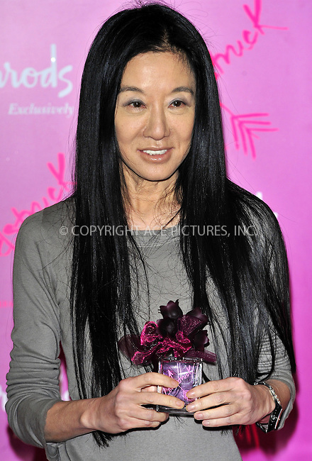 WWW.ACEPIXS.COM . . . . .  ..... . . . . US SALES ONLY . . . . .....June 9 2011, London....Designer Vera Wang at the launch of the new fragrance 'Vera Wang Lovestruck' by Vera Wang at Harrods on June 9 2011 in London....Please byline: FAMOUS-ACE PICTURES... . . . .  ....Ace Pictures, Inc:  ..Tel: (212) 243-8787..e-mail: info@acepixs.com..web: http://www.acepixs.com