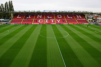 A general view of Sincil Bank, home of Lincoln City<br /> <br /> Photographer Chris Vaughan/CameraSport<br /> <br /> The EFL Sky Bet League One - Lincoln City v Sunderland - Saturday 5th October 2019 - Sincil Bank - Lincoln<br /> <br /> World Copyright © 2019 CameraSport. All rights reserved. 43 Linden Ave. Countesthorpe. Leicester. England. LE8 5PG - Tel: +44 (0) 116 277 4147 - admin@camerasport.com - www.camerasport.com