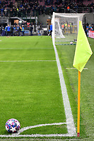 The ball on the corner kick <br /> Milano 19/02/2020 Stadio San Siro <br /> Football Champions League 2019/2020 <br /> Round of 16 1st leg <br /> Atalanta - Valencia <br /> Photo Andrea Staccioli / Insidefoto