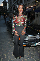 Sarah Mulindwa at the International Day Polo launch party, Kadie's, Swallow Street, London, England, UK, on Wednesday 04 July 2018.<br /> CAP/CAN<br /> &copy;CAN/Capital Pictures