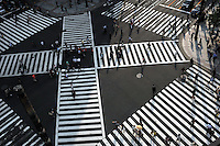 Ginza crossing, Tokyo, Japan..04 Jun 2009