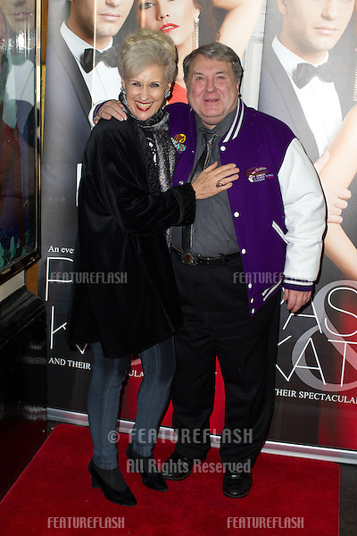Anita Dobson, Russell Grant at the Katya and Pasha West End show - Gala night held at the Lyric Theatre, London. 07/04/2014 Picture by: Dave Norton / Featureflash