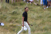 Joakim Lagergren (SWE) walks onto the 18th green during Sunday's Final Round of the 2018 Dubai Duty Free Irish Open, held at Ballyliffin Golf Club, Ireland. 8th July 2018.<br /> Picture: Eoin Clarke | Golffile<br /> <br /> <br /> All photos usage must carry mandatory copyright credit (&copy; Golffile | Eoin Clarke)