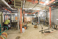 Major Renovation Litchfield Hall WCSU Danbury CT<br /> Connecticut State Project No: CF-RD-275<br /> Architect: OakPark Architects LLC  Contractor: Nosal Builders<br /> James R Anderson Photography New Haven CT photog.com<br /> Date of Photograph: 28 February 2017<br /> Camera View: 28 - First Floor, Rooms 128-130