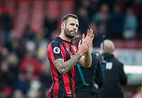 Steve Cook of AFC Bournemouth at full time during the Premier League match between Bournemouth and Arsenal at the Goldsands Stadium, Bournemouth, England on 14 January 2018. Photo by Andy Rowland.