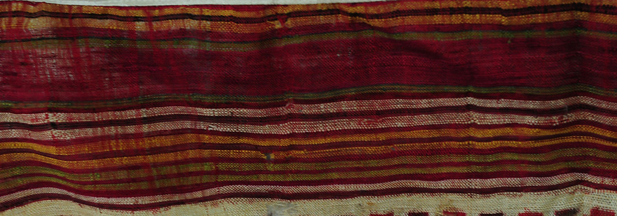 ANTIQUE WEAVER'S HEIRLOOM PATAN PATOLA IKAT PRE-19TH CENTURY