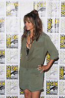 "SAN DIEGO - July 20:  Halle Berry at the ""Kingsman: The Golden Circle"" Photocall at the Comic-Con International on July 20, 2017 in San Diego, CA"