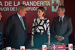 Queen Letizia of Spain and Deputy Congress President Jesus Posada during the Red Cross Fundraising day event (Dia de la Banderita) in Madrid, Spain. October 02, 2015. (ALTERPHOTOS/Victor Blanco)