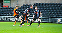 Dundee Utd's Stuart Armstrong scores their second goal.