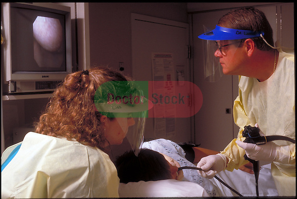 doctors performing an Endoscopic Ultrasound on patient