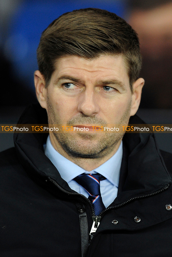 Rangers manager Steven Gerrard during Rangers vs Villarreal CF, UEFA Europa League Football at Ibrox Stadium on 29th November 2018