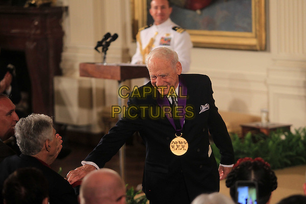 Mel Brooks at the 2015 National Medal of Arts Ceremony  in the East Room of the White House in Washington, DC on Thursday, September 22, 2016. <br /> CAP/MPI34<br /> &copy;MPI34/Capital Pictures
