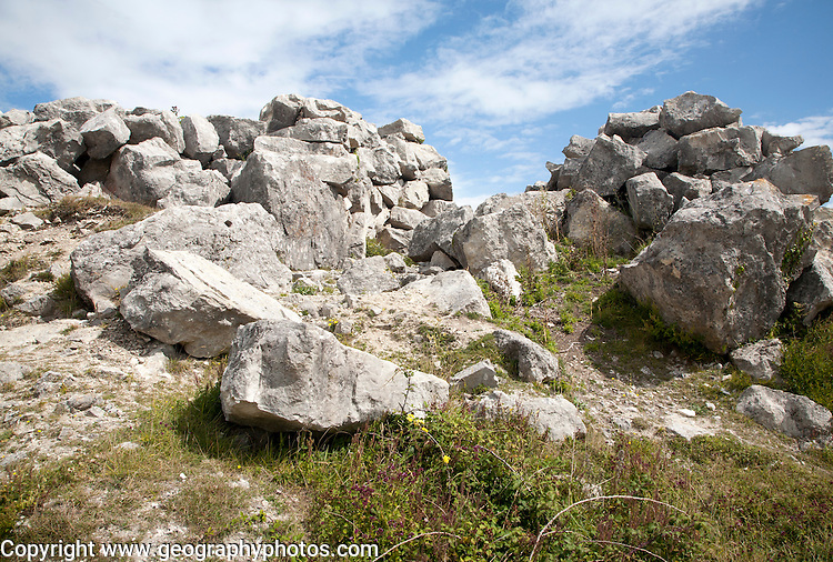 Tout Quarry, Isle of Portland, Dorset, England, UK
