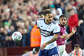 12th September 2017, Villa Park, Birmingham, England; EFL Championship football, Aston Villa versus Middlesbrough; Lewis Baker of Middlesbrough turns away from the ball