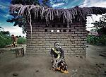 A woman in Karonga, a town in northern Malawi.