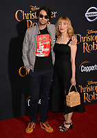 Alex Ross Perry &amp; Anna Bak-Kvapil  at the world premiere of Disney's &quot;Christopher Robin&quot; at Walt Disney Studios, Burbank, USA 30 July 2018<br /> Picture: Paul Smith/Featureflash/SilverHub 0208 004 5359 sales@silverhubmedia.com