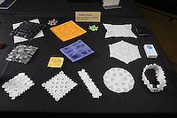 Origami designs by Robin Scholz, Germany, on display at OrigamiUSA 2013