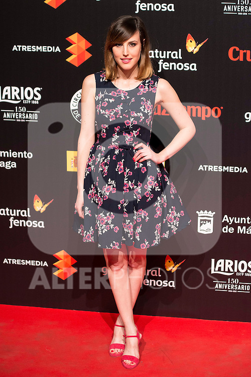 Natalia de Molina attends to the cocktail presentation of the XIX Malaga Film Festival at Circulo de Bellas Artes in Madrid. April 06, 2016. (ALTERPHOTOS/Borja B.Hojas)