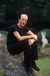 Robin Gibb of the pop group Bee Gees 2000s at their home in the Home Counties UK.