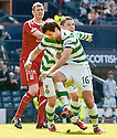 :: CELTIC'S JOE LEDLEY CELEBRATES WITH CELTIC'S GARY HOOPER AFTER HE SCORES THE SECOND ::