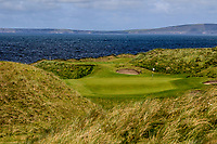 The 15th green during Matchplay Semi-Finals of the AIG Irish Amateur Close Championship 2019 in Ballybunion Golf Club, Ballybunion, Co. Kerry on Wednesday 7th August 2019.<br /> <br /> Picture:  Thos Caffrey / www.golffile.ie<br /> <br /> All photos usage must carry mandatory copyright credit (© Golffile | Thos Caffrey)