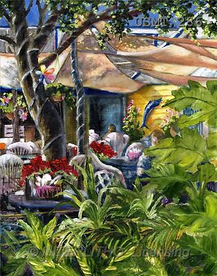 Malenda, LANDSCAPES, paintings(USMT286,#L#) Landschaften, Schiffe, paisajes, barcos, llustrations, pinturas