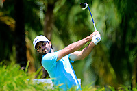 Jo&euml;l Stalter (FRA) in action during the final round of the Afrasia Bank Mauritius Open played at Heritage Golf Club, Domaine Bel Ombre, Mauritius. 03/12/2017.<br /> Picture: Golffile | Phil Inglis<br /> <br /> <br /> All photo usage must carry mandatory copyright credit (&copy; Golffile | Phil Inglis)