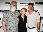 Phillip Bosco, Swoosie Kurtz  and Robin Lefevre <br />attending the press Meet and Greet with the cast of The Roundabout Theatre Company production of HEARTBREAK HOUSE in New York City.<br />August 23, 2006