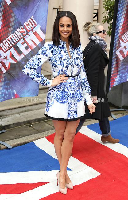 WWW.ACEPIXS.COM....US Sales Only....April 11 2013, London....Alesha Dixon at the photocall for Britain's Got Talent on April 11 2013 in London ....By Line: Famous/ACE Pictures......ACE Pictures, Inc...tel: 646 769 0430..Email: info@acepixs.com..www.acepixs.com