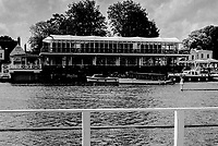 Henley On Thames. Oxfordshire/ Berkshire. United Kingdom. 26/17.05.2017. General View, across River Thames, towards &quot;Phyliss Court Club&quot; <br /> <br /> <br /> [Mandatory Credit Peter SPURRIER/Intersport Images]