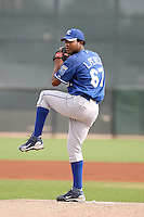 Leondy Perez - Kansas City Royals - 2010 Instructional League.Photo by:  Bill Mitchell/Four Seam Images..