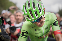 Pierre Rolland (FRA/Cannondale-Drapac) finally giving his team a much awaited victory<br /> <br /> Stage 17: Tirano &rsaquo; Canaze (219km)<br /> 100th Giro d'Italia 2017