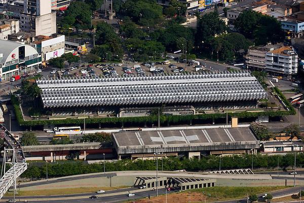Belo Horizonte_MG, Brasil...Imagem aerea da rodoviaria de Belo Horizonte, Minas Gerais...Aerial view of bus station in Belo Horizonte, Minas Gerais...Foto: BRUNO MAGALHAES / NITRO