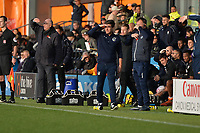 Barnet Manager John Still and Bristol Rovers Manager Darrell Clarke during Barnet vs Bristol Rovers, Emirates FA Cup Football at the Hive Stadium on 11th November 2018