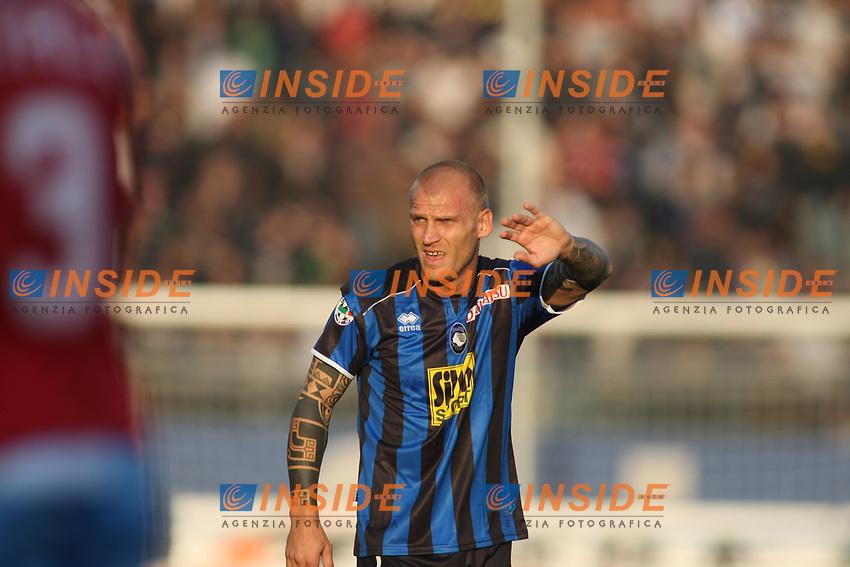 Diego De Ascentis (Atalanta)<br /> Bergamo 16/11/2008 &quot;Stadio Comunale&quot;<br /> Campionato Serie A Tim 2008/2009<br /> Atalanta-Napoli 3-1<br /> Foto Prater Insidefoto