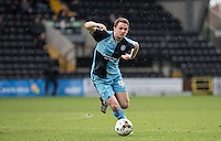 Stephen McGinn of Wycombe Wanderers in action during the Sky Bet League 2 match between Notts County and Wycombe Wanderers at Meadow Lane, Nottingham, England on 28 March 2016. Photo by Andy Rowland.