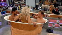 Shane Jenek - AKA Courtney Act, Ashley James, Andrew Brady, India Willoughby<br /> Celebrity Big Brother 2018 - Day 10<br /> *Editorial Use Only*<br /> CAP/KFS<br /> Image supplied by Capital Pictures