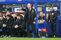 Steve McClaren manager of QPR during Queens Park Rangers vs Birmingham City, Sky Bet EFL Championship Football at Loftus Road Stadium on 9th February 2019