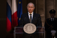 Vladimir Putin (President of the Russian Federation).<br />