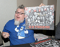 NEW YORK, NY - NOVEMBER 4:  The Blue Meanie attends the Big Event NY at LaGuardia Plaza Hotel on November 4, 2017 in Queens, New York.  Credit: George Napolitano/MediaPunch /NortePhoto.com