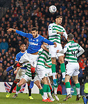 08.11.2019 League Cup Final, Rangers v Celtic: Connor Goldson and Mohamed Elyounoussi