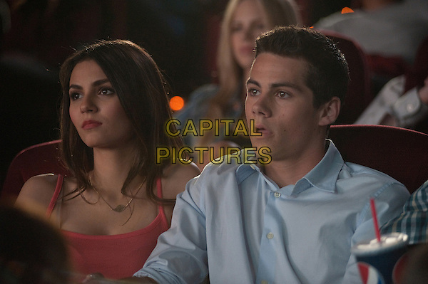 VICTORIA JUSTICE, DYLAN O'BRIEN.in The First Time (2012).*Filmstill - Editorial Use Only*.CAP/FB.Supplied by Capital Pictures.